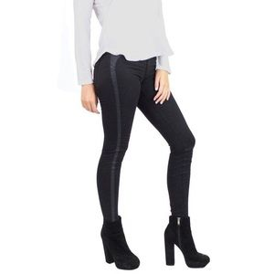 AG The Jackie Tuxedo Super Skinny Black Pants